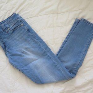 light wash jeans size 3